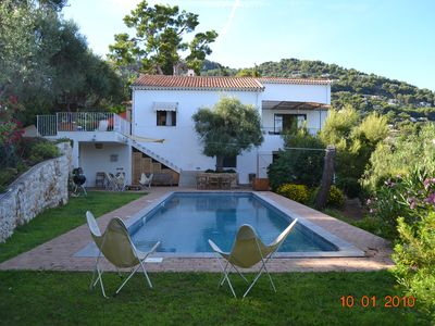 Photo for Between Monaco & Italy, superb villa, swimming pool, sea view mountain