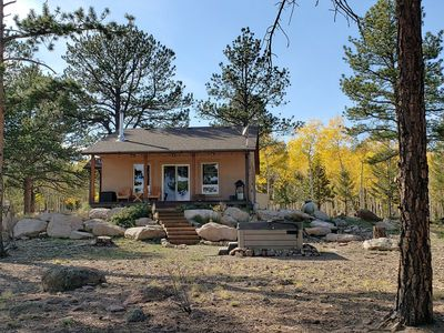 Photo for NEW LISTING!The Ideal Hide-out! Romantic-Luxury-Secluded-Amazing Views w/Hot Tub