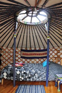 Photo for Little Blue Yurt at Cabot Shores Wilderness Resort