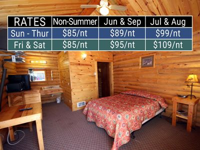 Photo for 1BR Cabin Vacation Rental in Saint Charles, Idaho