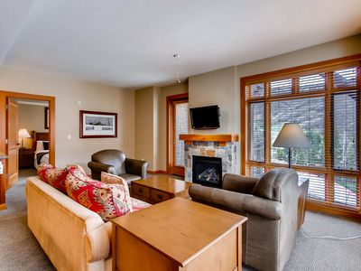 Photo for Enjoy the views at this 2BR village condo