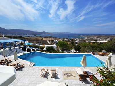 """Photo for Villa """"Aperado"""", luxury complex with pool, spectacular views, tennis court"""