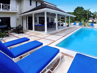 Pool deck and outdoor patio