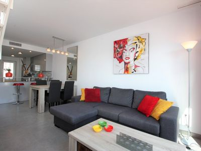 Photo for Casa Stits, apartment near beach with communal pool