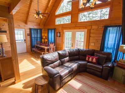 Photo for Lake Front Cabin. Great For Boating, Fishing  And Family Time