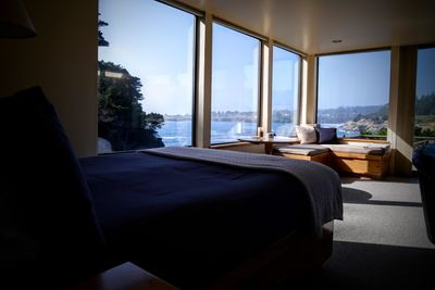 Best view from your bed in Mendocino