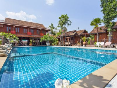Photo for ⭐Thai Cottage Resort 10BR Sleeps 20 w/ Pool in City