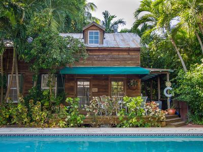 Secluded, Private, Tropical Retreat In Old Town, Key West.