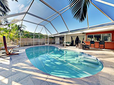Photo for Newly Furnished Home w/ Private Pool & Pool Table -- Walk to Beach & Dining