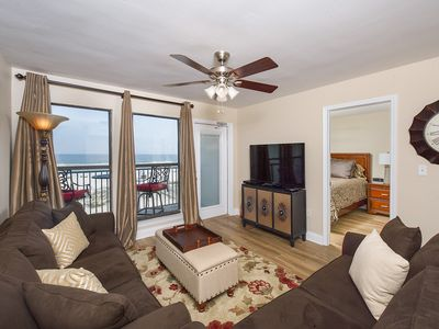 Photo for COZY DIRECT GULF CONDO AMAZING VIEWS WITH FLOOR TO CEILING WINDOWS