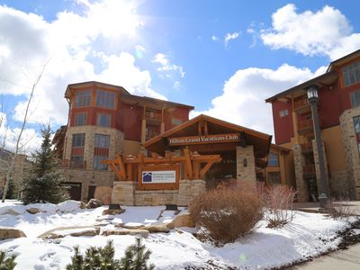Ski-in Studio Plus located in the Canyons area of Park City Mountain Resort