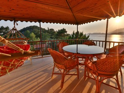 Photo for Kas Holiday Rental with Stunning Sea View and Swimming Pool ( 4 people )