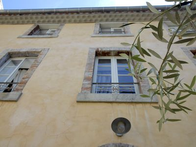Photo for vacation rentals at the foot of the medieval city