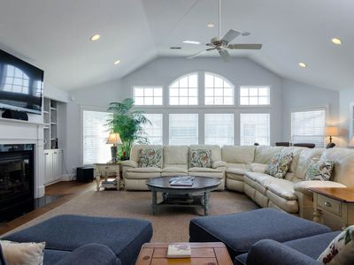 Photo for Grand single family home with a private pool and a short walk to the beach