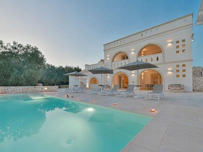 Photo for Luxurious Villa Don Salvatore with Wi-Fi, Air Conditioning, Pool & Terrace; Parking Available, Pets Allowed