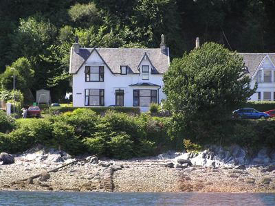 Photo for Wonderful holiday apartment on the edge of Loch Long with great views