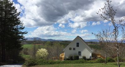 Photo for STUNNING HORSE COUNTRY VIEW CHALET NEAR TRYON INTL. EQUESTRIAN CENTER & WINERIES