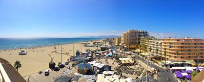 Photo for Canet Plage, beautiful apartment 70 m² comfortable