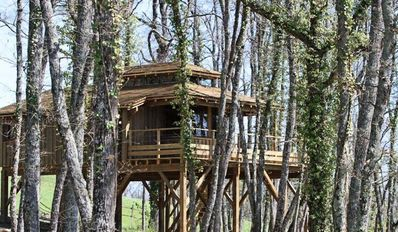 Photo for Les Roulottes d'Escapa - Shack Perched 3 Rooms 6 People