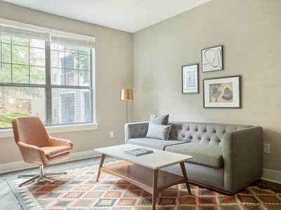 Photo for Sonder | East Eleventh | Ideal 1BR + Pool