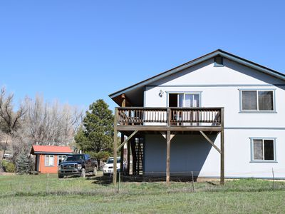 Photo for Spacious Guest House on Working Farm near Hot Springs & Wolf Creek