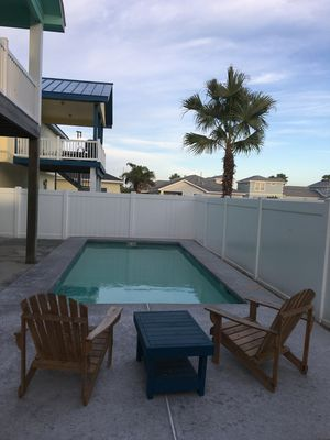 Photo for Coastal Serenity awaits you in the heart of Port Aransas. Private swimming pool!
