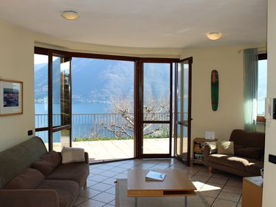 Photo for 4BR Villa Vacation Rental in Argegno, Lombardia