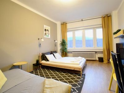 Photo for Studio apartment 113 m from the center of Budapest with Lift, Washing machine (389569)