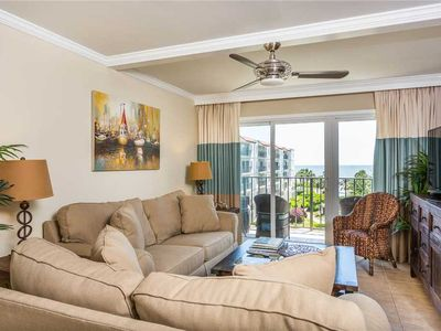 Photo for Beachfront Condominium, Just Steps from the Ocean! Amenities Include Pool, Beach Access