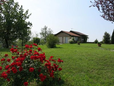 Photo for Vacation home Casa Le Rose Rosse (GRZ150) in Grazzano Badoglio - 4 persons, 1 bedrooms