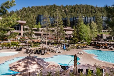 Pool - Enjoy access to 3 heated pools and 3 spas.