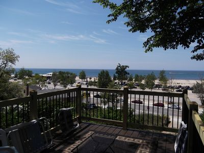 Photo for Happe House Apt A: 5 BR House w/ Unobstructed Lake Michigan Views (Sleeps 12)
