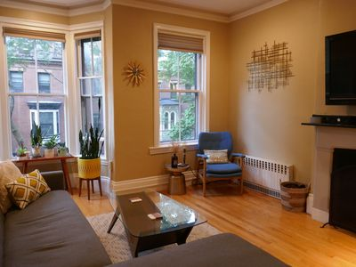 Photo for Beautiful Brownstone (1BR) in Historic South End
