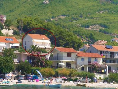 Photo for Apartments and rooms Mladenka, (2625), Podstrana, Split riviera, Croatia