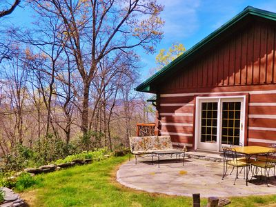 Photo for Private 3BR Cabin CLEAN 15min Asheville, in Black Mountain, Montreat VIEW WOODS