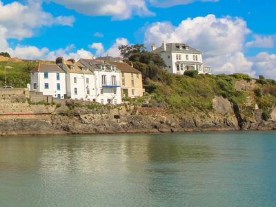 Photo for Chy Rani is a traditional fishing cottage perched high on the rocks above Portmellon beach