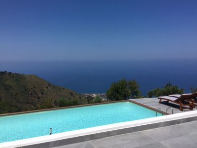 Photo for Terrazza Sicilia Villa, Infinite sea view and pool