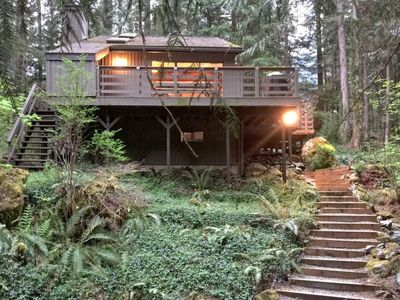 Photo for Vacation home 26SL Two Story Cabin in the Woods in Mount Baker/Glacier - 8 persons, 3 bedrooms