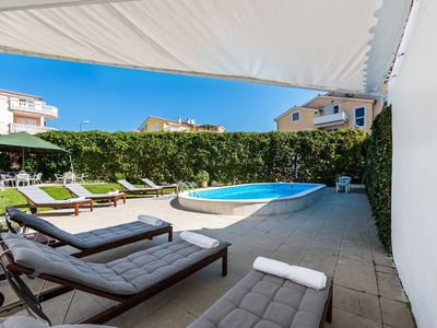 Photo for 448 m from the center of Vodice with Internet, Pool, Air conditioning, Parking (747123)