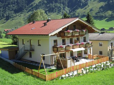 Very nice apartment right on the ski slope, on the hiking trail and near the center
