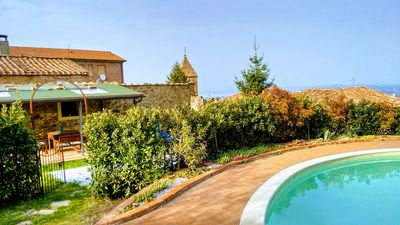 Photo for Rivalto: Toscana Florence Pisa: Villa with  garden and pool