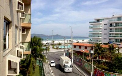 Photo for Great 2 bedroom apt in front of Praia do Forte - With beautiful views of the SEA
