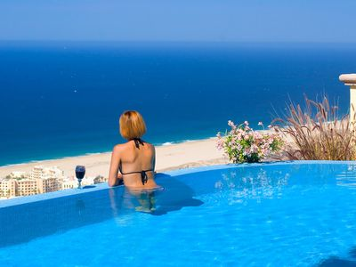 Photo for Cabo - Montecristo Villa-Spectacular View - Private Infinity pool!