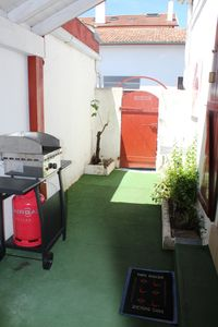 Photo for Apartment classified 2 * ground floor with patio, 2 bedrooms near downtown and beach