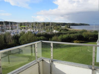 Photo for fantastic views of the fjord, the marina and Denmark