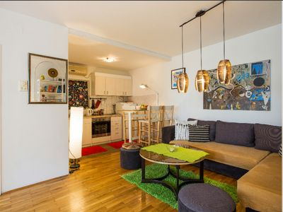Belgrade apartment (40 m2) - BEST AREA Really great all walking distancance