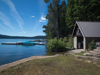 Photo for 1930's Historic cabin on Lake of the Woods waterfront. Memories are made here.