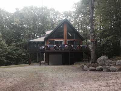 Photo for Four season Chalet in Suissevale, Lake Winnipesaukee.