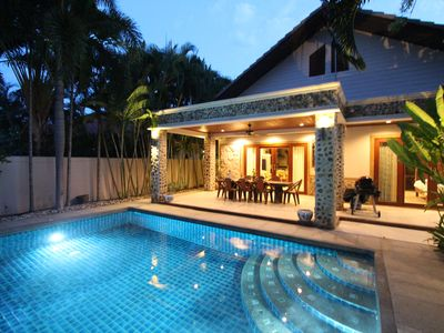 Photo for 4 BEDROOM GARDEN VILLA NEAR BEACH