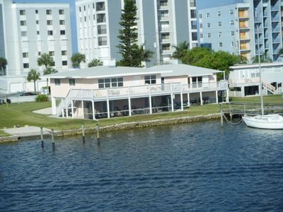 Photo for Historic Beach cottage located on Estero Bay, pet friendly.